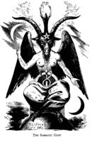 Eliphas Levi's Goat of Mendes aka Baphomet